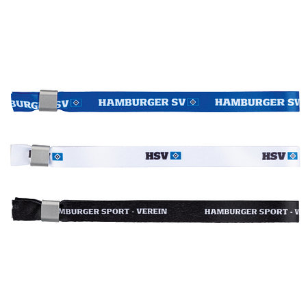 """HSV Armbänder 3er Set """"Blau-Weiß-Schwarz"""""""