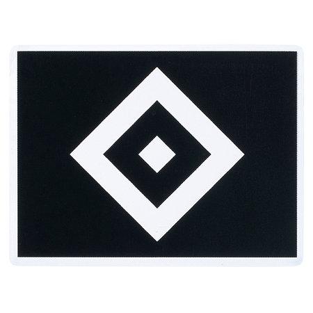 HSV Aufkleber transparent schwarz