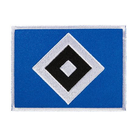 """HSV Aufnäher """"Raute"""" groß"""