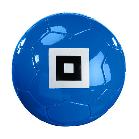 HSV Ball Raute blau Gr.5
