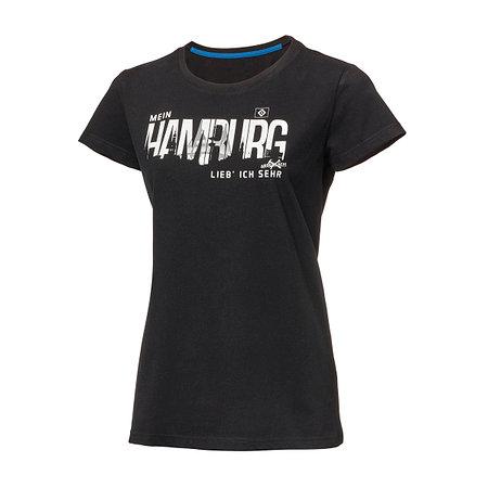 """HSV Damen T-Shirt """"Mein Hamburg - Abschlach!"""""""