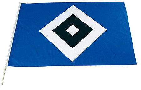 """HSV Fahne """"Raute"""" 80x120"""