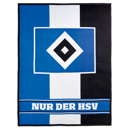 """HSV Fleecedecke """"Blockstreifen"""""""