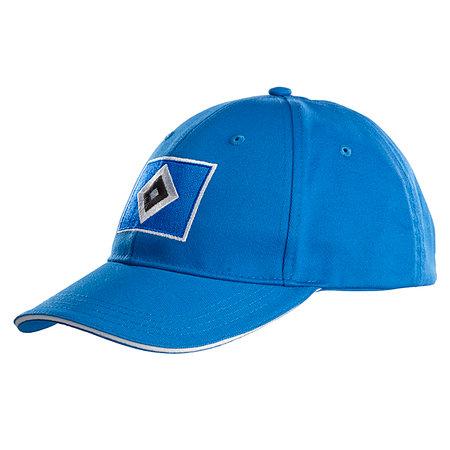 """HSV Kinder Kappe """"Raute"""" blau"""