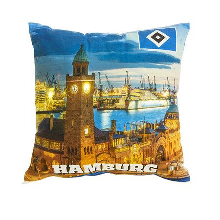 """HSV LED Kissen """"Hamburger Hafen"""""""
