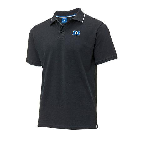 """HSV Poloshirt """"Raute schwarz"""""""