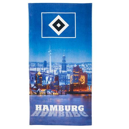 """HSV Strandtuch """"Hamburger Hafen"""""""