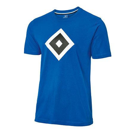 "HSV T-Shirt ""Raute blau"""