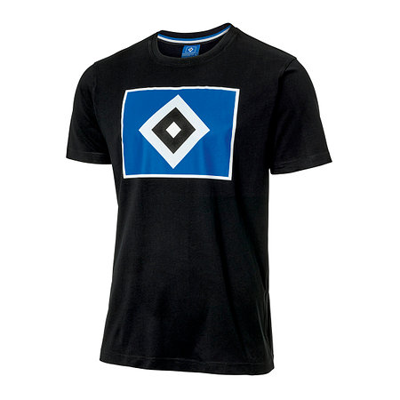 """HSV T-Shirt """"Raute schwarz"""""""