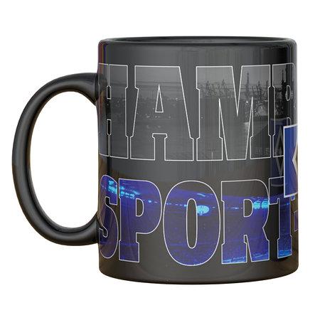 """HSV Tasse Magic Mug """"Hamburger Sport-Verein"""""""