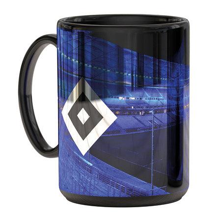"""HSV Tasse Metallic """"Stadion blau"""""""