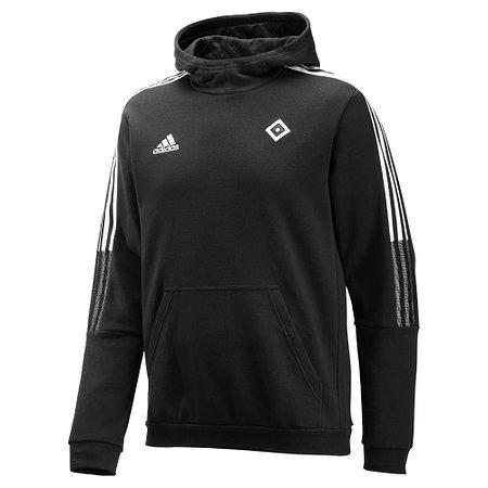 HSV adidas Kapuzenpullover schwarz 21/22