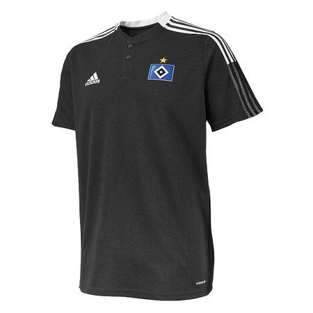 HSV adidas Poloshirt schwarz 21/22